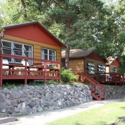 Cabins 21, 22 and 23